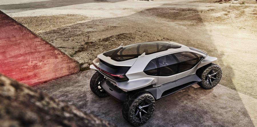 Parte trasera del Audi AI:Trail Quattro. (Suministrada)