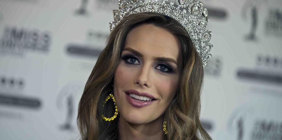 Miss Universo España, Ángela Ponce, es modelo y activista . (AP) (horizontal-x3)