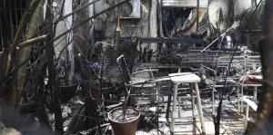 Mira los daños que ocasionó el incend...