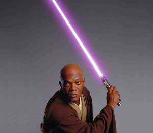 "Subastarán la espada láser que Samuel L. Jackson usó en ""Star Wars"""