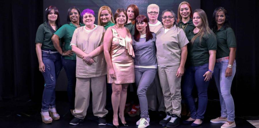 Un grupo de 13 confinadas del reclusorio de mujeres de Bayamón y del Hogar Intermedio para Mujeres en San Juan disfrutó de San Juan Moda. (horizontal-x3)