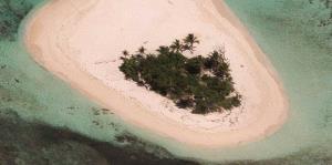 La reducción de la isla Palominito en los últimos 20 años