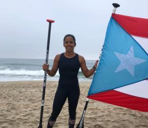 Boricua conquista una plaza para los Panamericanos en el deporte del surfing