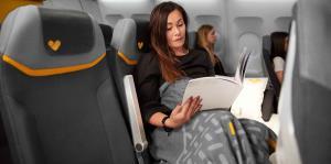 Listos los aviones con asientos-camas en clase económica