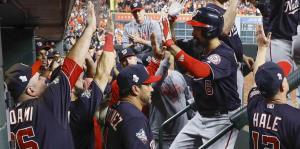 Los Nationals se imponen a los Astros en el sexto juego de la Serie Mundial
