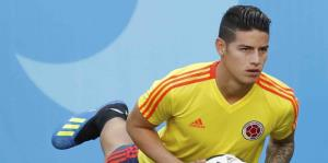 James Rodríguez está en duda para su debut en Rusia