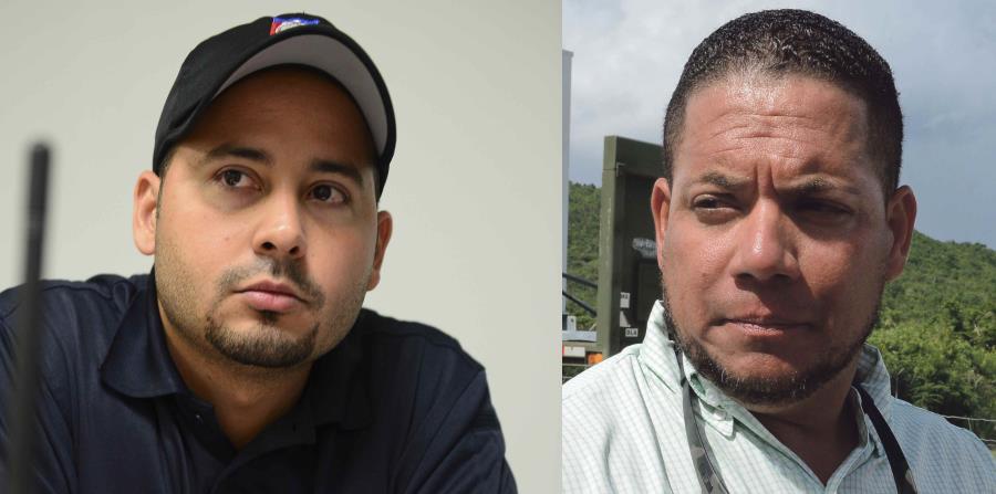 Los alcaldes de Villalba y Culebra, Luis Javier Hernández (izq.) y William Solís Bermúdez (der.). (Fotomontaje / GFR Media) (horizontal-x3)