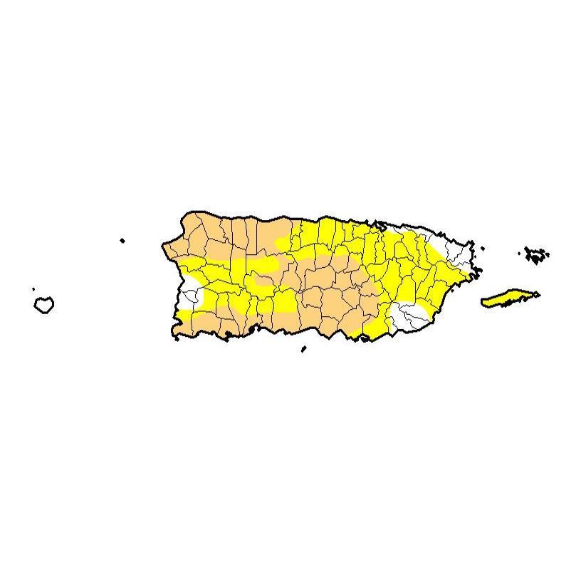 El Monitor de Sequía de los Estados Unidos recomienda restricción voluntaria del uso del agua. (semisquare-x3)