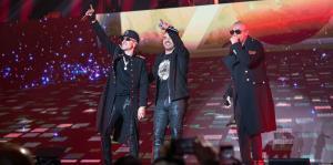 Daddy Yankee, Luis Fonsi, Nacho y Cosculluela se unen a Wisin y Yandel