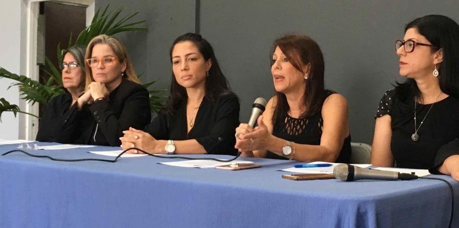 El Junte de Mujeres está formado por Carmen Yulín Cruz, María de Lourdes Santiago, Alexandra Lúgaro, Mariana Nogales, María de Lourdes Guzmán y Wilma Reverón Collazo. (horizontal-x3)