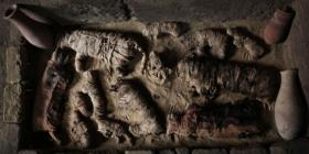 Descubren un enorme animal momificado en Egipto