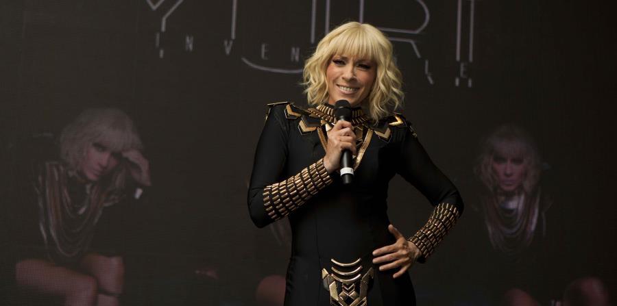 La cantante Yuri dice que cantará reguetón para renovarse y no quedarse rezagada. (GFR Media) (horizontal-x3)