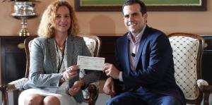 Rosselló entrega una aportación de $2 millones al Comité Olímpico