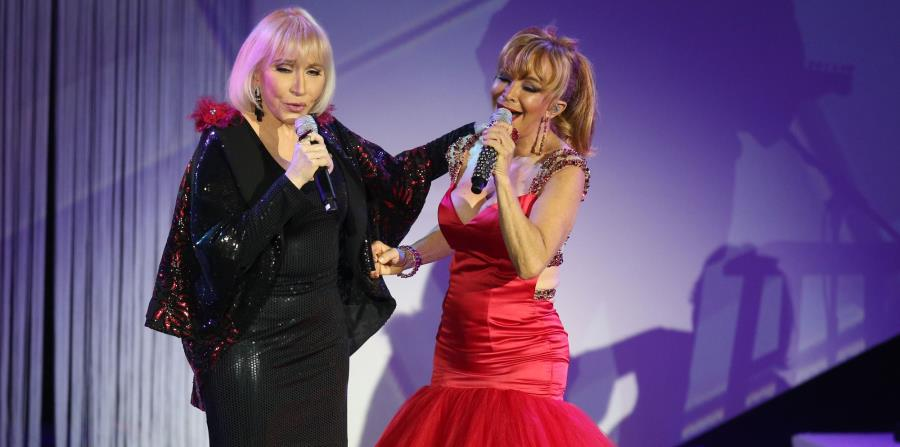 Lissette y Yolandita derrochan veteranía en el escenario y dramatismo en este concierto. (horizontal-x3)