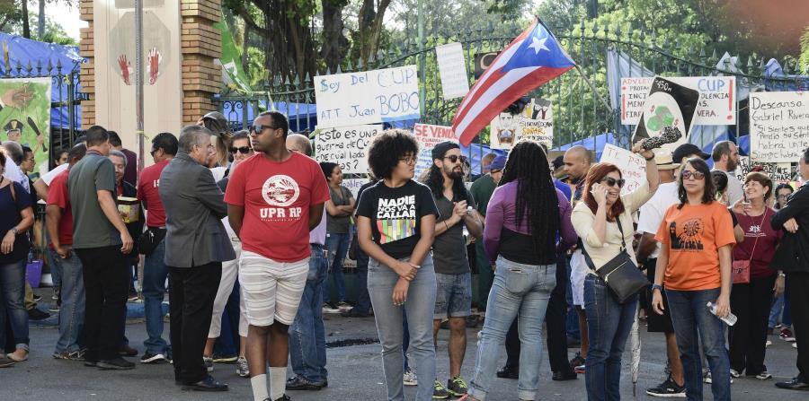 Los portones del recinto de Río Piedras han estado cerrados desde el 28 de marzo, cuando inició un paro estudiantil en el principal centro docente del País. El 6 de abril comenzó una huelga sistémica. (horizontal-x3)