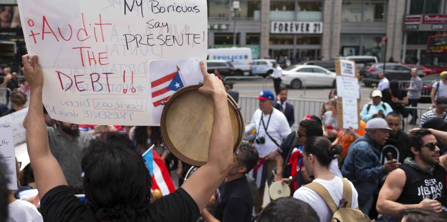 La diáspora boricua protesta en Nueva York (horizontal-x3)