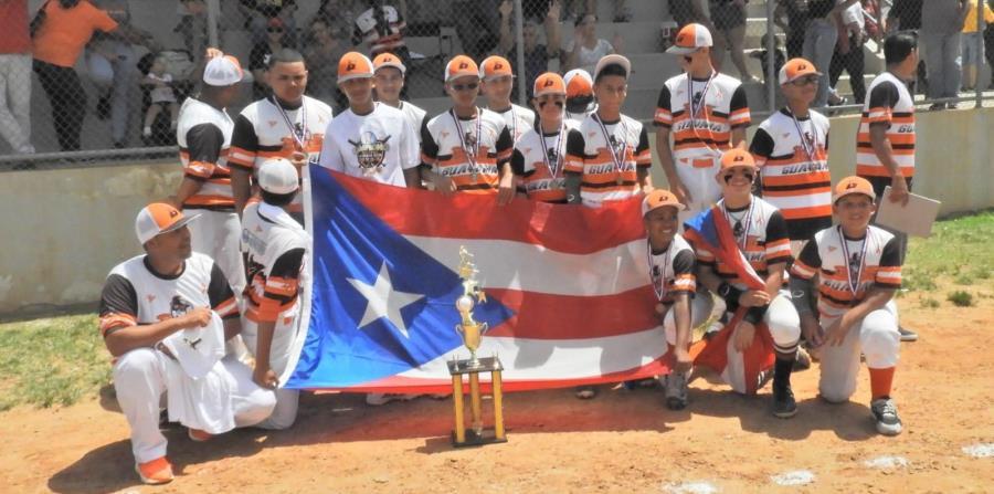 Guayama, como campeón de Puerto Rico junto a al equipo de Sabana Grande como sede, estarán representando a la isla del 13 al 21 de julio en el Campeonato del Caribe que se estará celebrando en Sabana Grande. (Suministrada) (horizontal-x3)