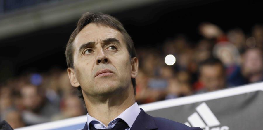 El nuevo dirigente del Real Madrid, Julen Lopetegui (horizontal-x3)