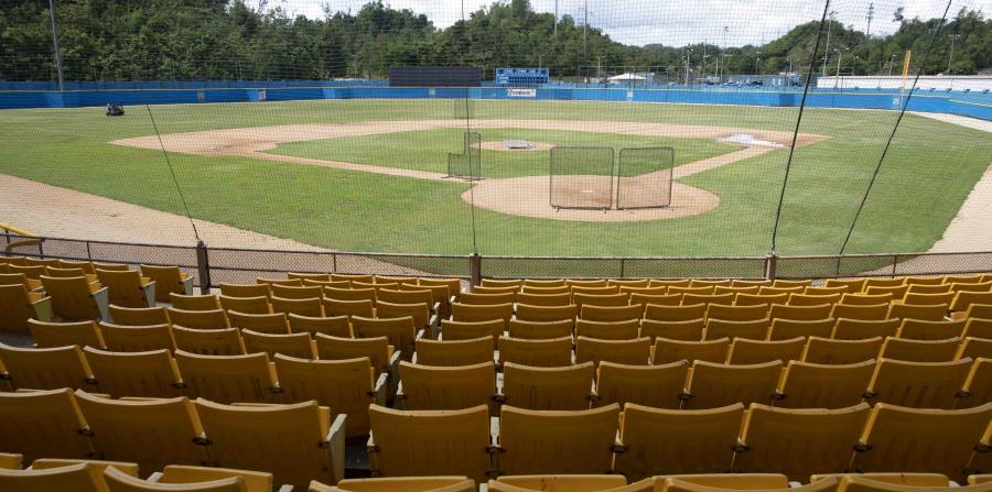 La gerencia del equipo dijo que los inspectores de MLB no encontraron fallas mayores en el terreno de juego. (Xavier Araújo Berríos)