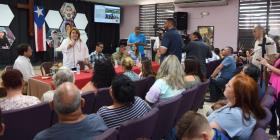 El Cuerpo de Ingenieros presenta alternativas para comunidad afectada por María