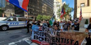 Cientos de puertorriqueños marchan por la independencia en Nueva York