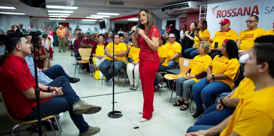 Rossana López oficializa su candidatura a la alcaldía de San Juan