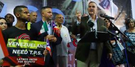 """Grupos de boricuas y latinos en Orlando recibirán a Trump con mensaje de """"no eres bienvenido"""""""