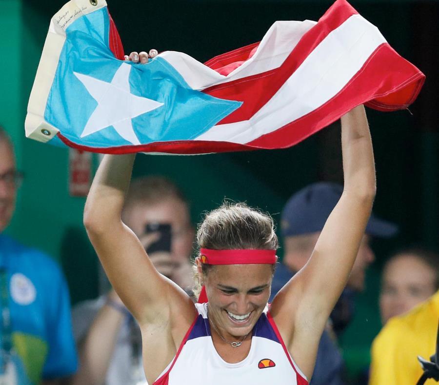 La presidenta del Copur, Sara Rosario, apelará al orgullo que siente Mónica Puig por su bandera. (semisquare-x3)
