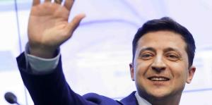 Comediante luce encaminado a ganar la presidencia de Ucrania