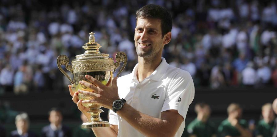 En el 21er sitio del ránking, Djokovic es el jugador con menor posición allí en ganar Wimbledon desde que Goran Ivanisevic lo logró en 2001. (horizontal-x3)