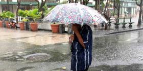Se espera calor y lluvia durante la tarde de hoy