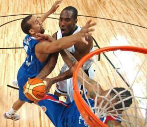 Kobe Bryant tuvo su historia ante la selección de Puerto Rico