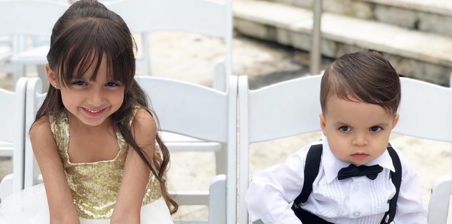Mika tiene 6 años, mientras Roco -el hijo menor de Fonsi- 1. (horizontal-x3)