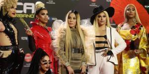 Ivy Queen se roba la alfombra roja de los Premios Tu Música Urbana