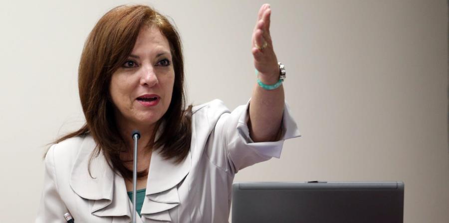 En la foto está la economista Martha Quiñones. (horizontal-x3)