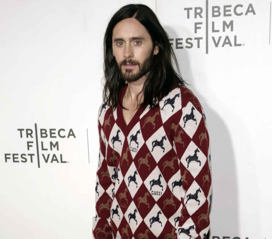 Jared Leto en el Festival de Cine de Tribeca. (AP/Brent N. Clarke) (semisquare-x3)