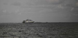 El único ferry de carga para las islas municipio sale de operaciones