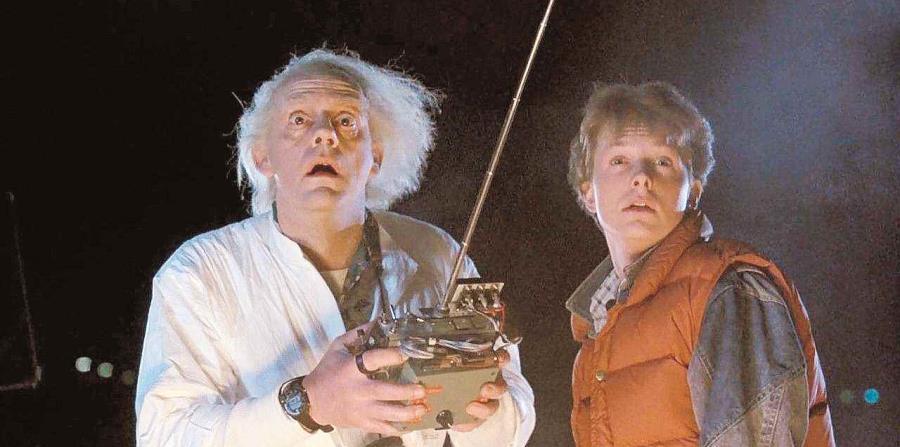 Una de las escenas de la película Back to the Future. (horizontal-x3)