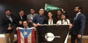 Capítulo de estudiantes del RUM triunfa en conferencia internacional de ciencia espacial