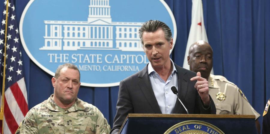 El gobernador de California, Gavin Newsom, anunció el recorte de tropas de la Guardia Nacional asignadas a proteger la frontera con México. (AP / Rich Pedroncelli) (horizontal-x3)