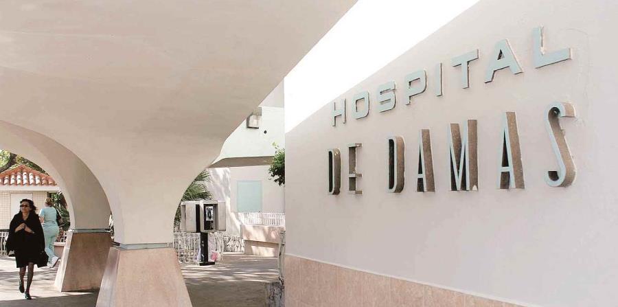 El incidente ocurrió en el estacionamiento del Hospital de Damas. (horizontal-x3)