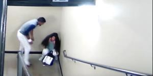 Un vídeo muestra golpiza de pelotero venezolano a su novia