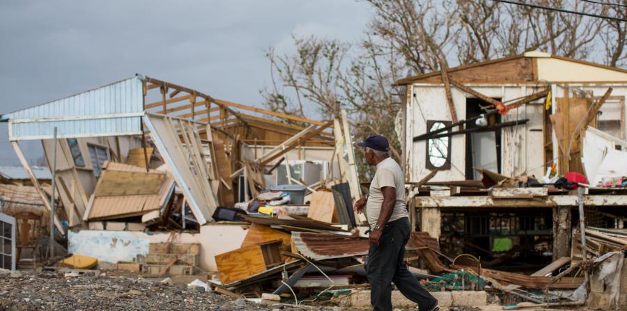 Miles de puertorriqueños perdieron sus casas por la fuerza del huracán María. (horizontal-x3)