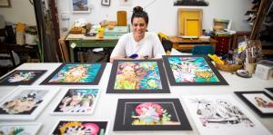 La obra de Elizabeth Barreto empodera a las mujeres