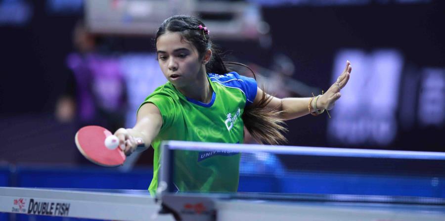 Melanie Díaz, quien recibió 'bye' en la primera ronda, cayó por 4-1 ante la hongkonesa Lee Ho Ching en un partido de la segunda ronda. (Suministrada / ITTF) (horizontal-x3)