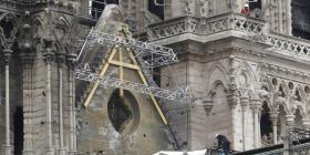 Notre Dame aún no recibe los casi $1,000 millones prometidos para su restauración