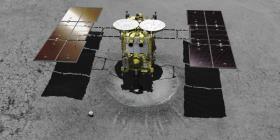 La sonda japonesa Hayabusa2 logra aterrizar con éxito en un asteroide