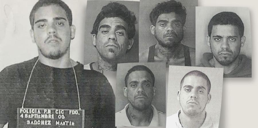 El Negociado de la Policía repartió a los medios varias de las fichas de Steven Sánchez Mártir, incluyendo un arresto en el 2016.