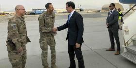 Mark Esper llega a Afganistán en busca de retirar soldados estadounidenses del país