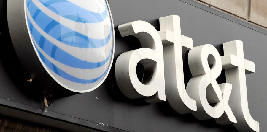 Logo de la empresa AT&T en una de sus tiendas en Nueva York. (EFE) (horizontal-x3)